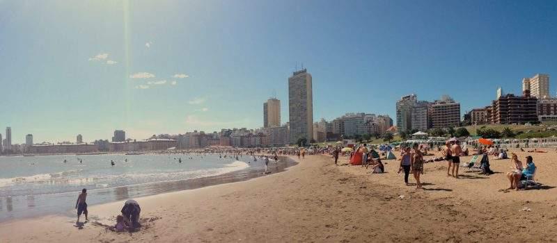 CLIMA y Temperatura en Mar del Plata (Windguru) ¿Cómo está el tiempo?