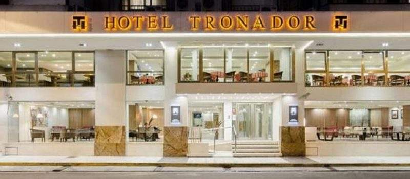 Hotel Tronador en Mar del Plata Buenos Aires Argentina