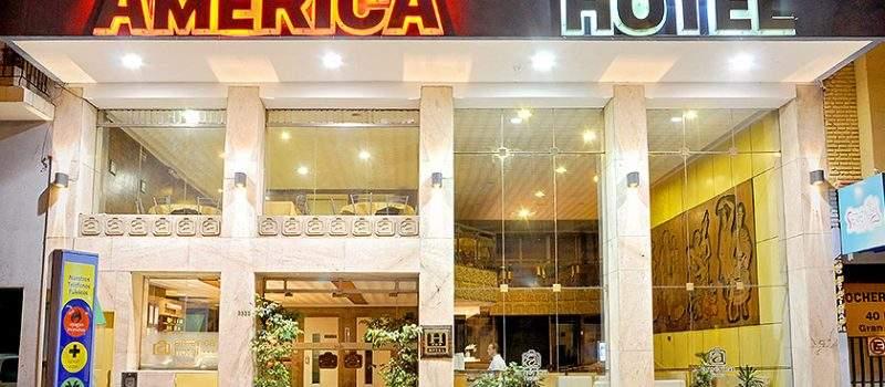 Hotel América en Mar del Plata Buenos Aires